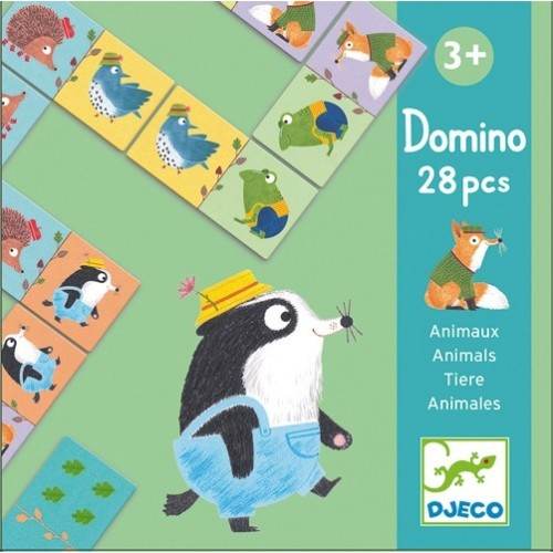 Educatif Domino Animaux