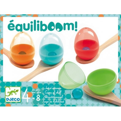 Course aux oeufs Equiliboom