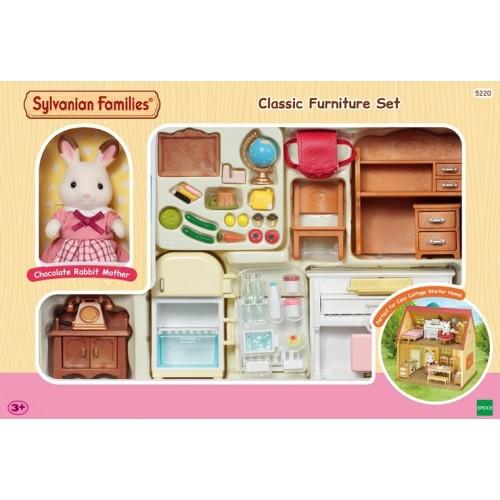 Classic furniture, mobilier maison Sylvanian Families