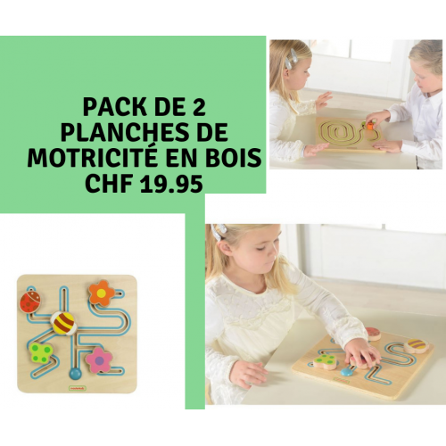 Pack de 2 jeux motricité