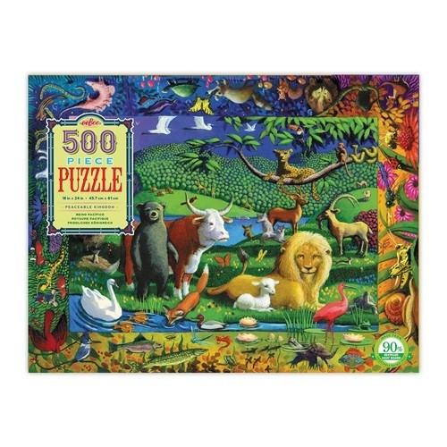 Puzzle un royaume paisible 500 pièces