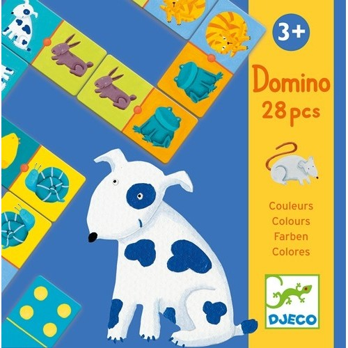 Educatif Domino colour animals