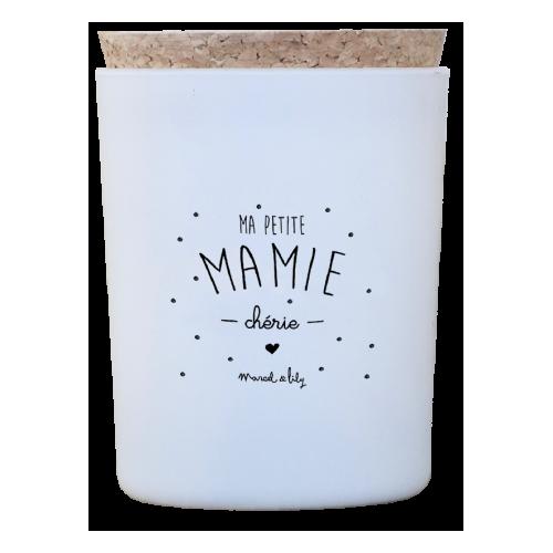 "BOUGIE ""MA PETITE MAMIE CHÉRIE"" CARAMEL BEURRE SALÉ"