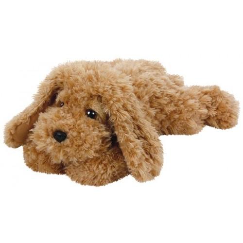 Baylee, peluche chien brun 33 cm
