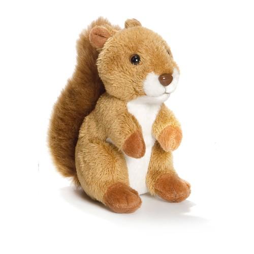 Peluche WWF écureuil 10 cm