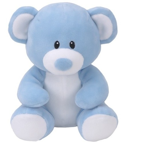 peluche Lullaby, ours bleu clair 17cm