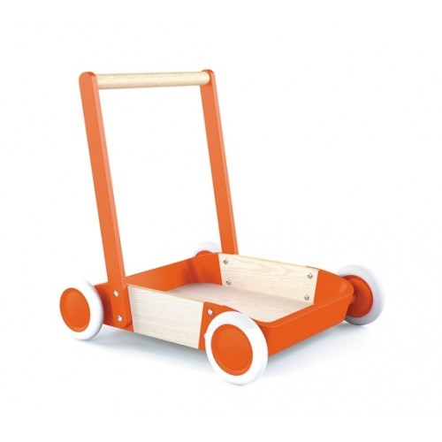 Chariot de marche orange